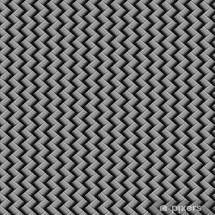 Vinyltapete nach Maß Nahtlose geprüft Interlacing Textur. - Grafische Elemente