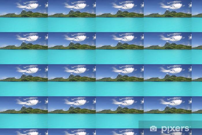 Tapeta na wymiar winylowa Pacific Wyspa Bora Bora - Wyspy