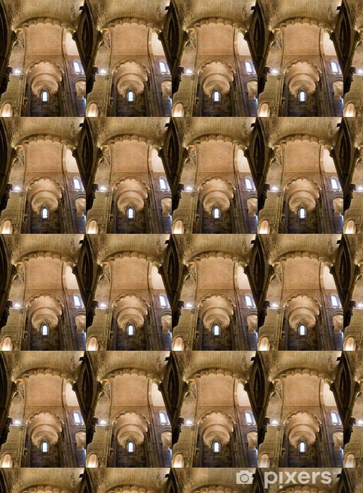 Trancept of Real Basilica de San Isidoro. Leon. Spain Vinyl custom-made wallpaper - Public Buildings