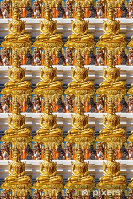 Tapeta na wymiar winylowa Posągi Buddy w świątyni - Religie