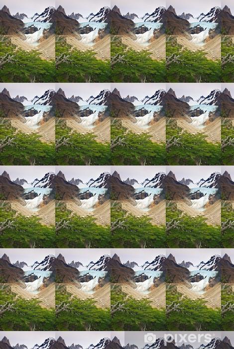 Papier peint vinyle sur mesure Mont Fitz Roy, Los Glaciares NP, Argentine - Nature et régions sauvages