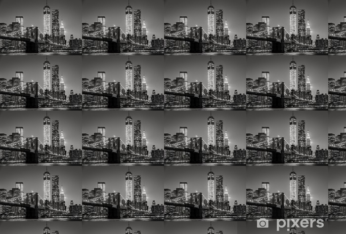 Foto Behang New York.Behang New York City In De Nacht Pixers We Leven Om Te Veranderen