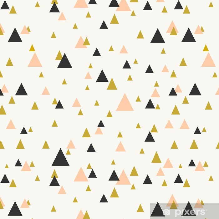 Papel de Parede em Vinil Abstract Geometric Seamless Pattern - Temas