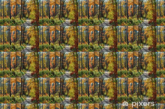 Vinylová tapeta na míru Barvy podzimu - Roční období