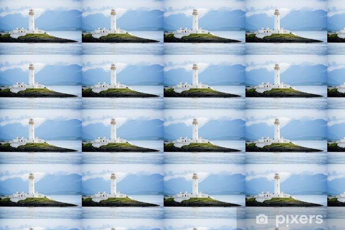 Vinyltapete nach Maß Lighthouse, Oban, Schottland - Europa