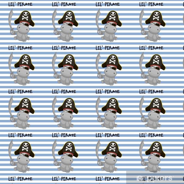 Papier peint vinyle sur mesure Petit pirate - Mammifères