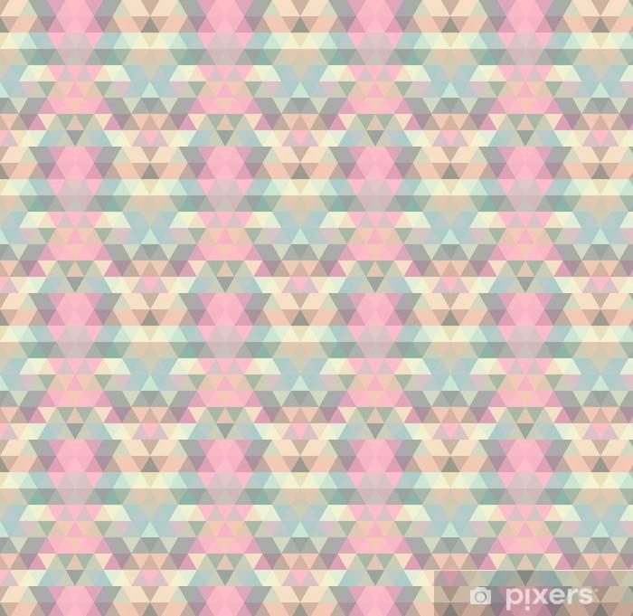 Mosaic trekant baggrund. Geometrisk baggrund Personlige vinyltapet -