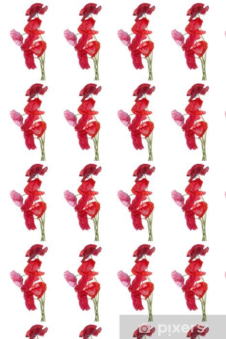 Papier peint vinyle sur mesure Pavot - Fleurs
