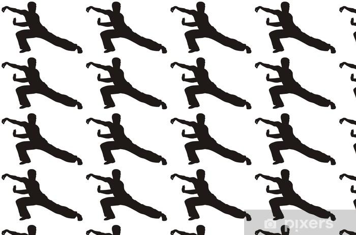 Martial art Vinyl custom-made wallpaper - Individual Sports