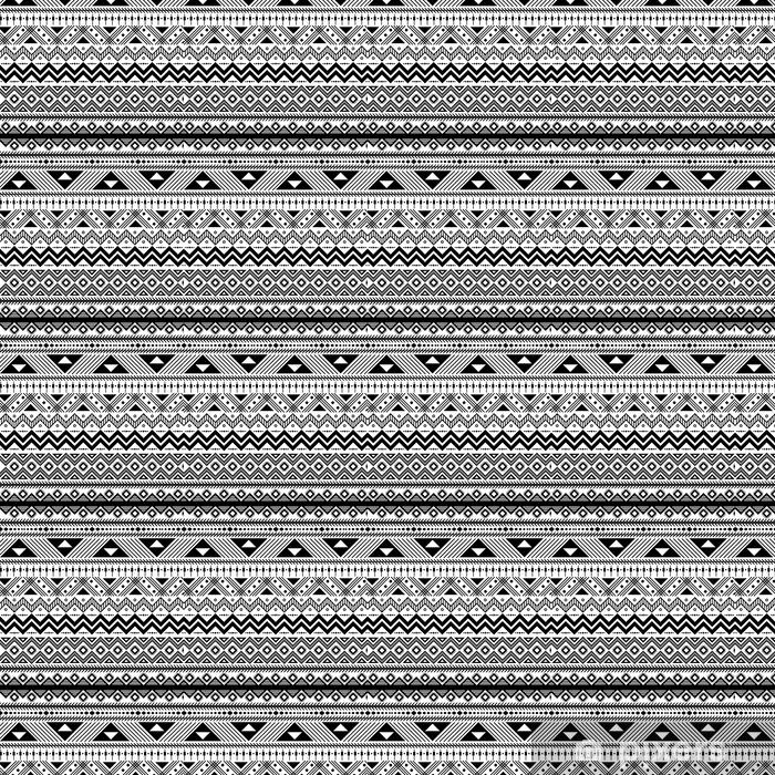 Geometryczne abstrakcyjny wzór bez szwu etnicznych