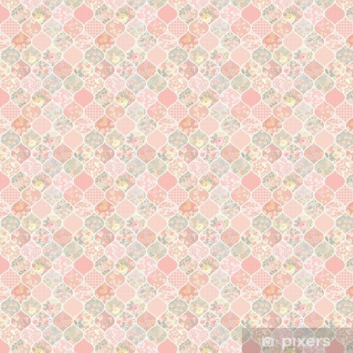 Tapeta na wymiar winylowa Bezszwowe wzór z kwiatami i motyle - Rośliny i kwiaty
