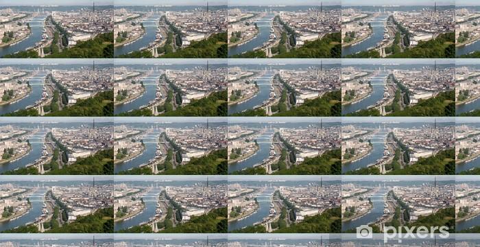 Papier peint vinyle sur mesure Panoramique de la Seine à Rouen - Vacances