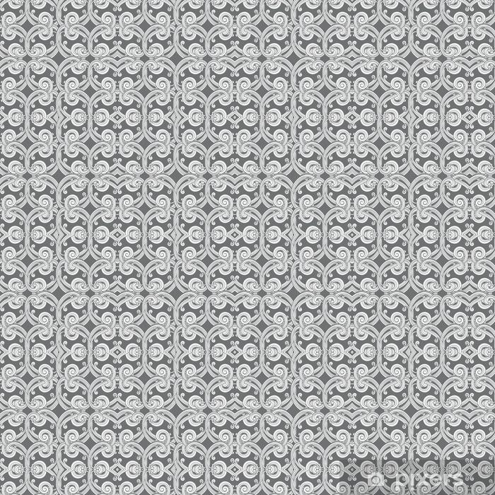 Vinyltapete nach Maß Damast-Tapeten-Muster - Grafische Elemente