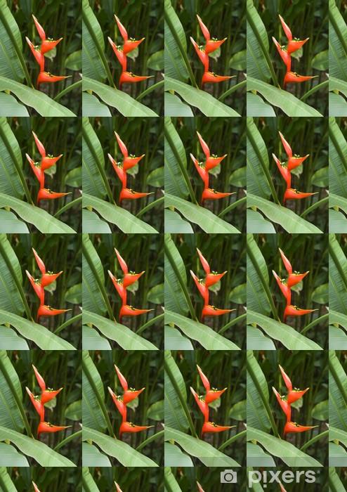 Vinyltapete nach Maß Heliconia caribaea - Blumen