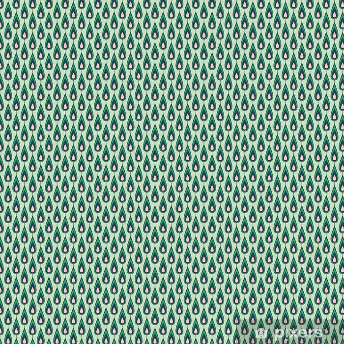 seamless vintage pattern Vinyl custom-made wallpaper - Graphic Resources