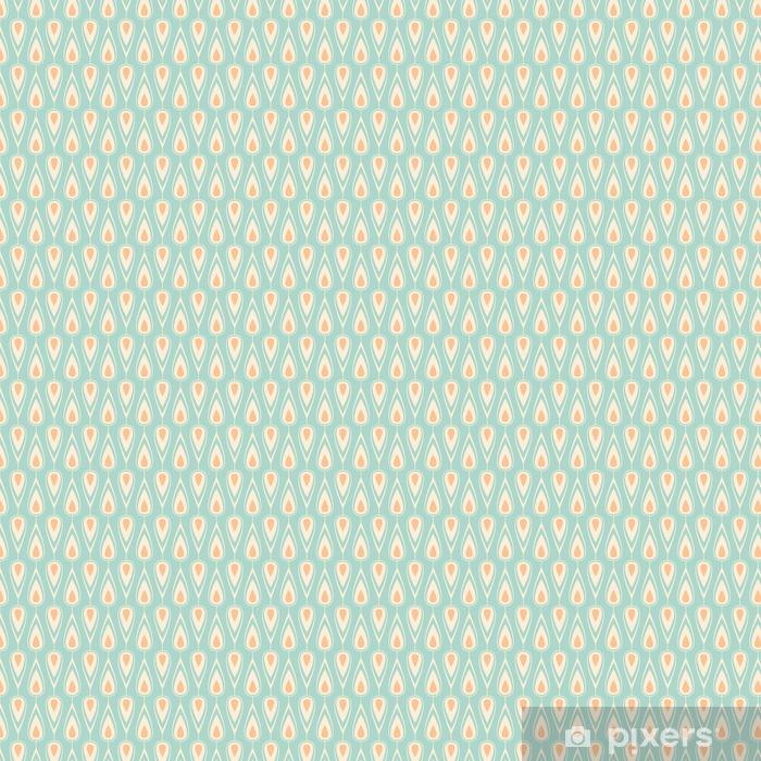 seamless vintage pattern Vinyl custom-made wallpaper -