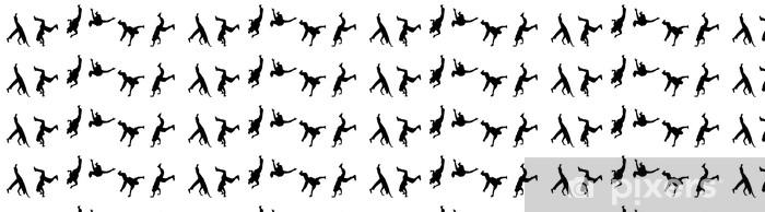 Papel pintado estándar a medida Street bailarines - Artes y creación