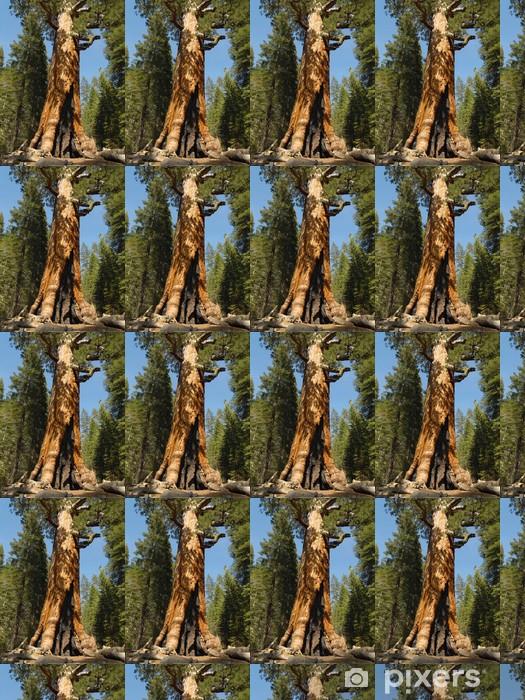 Vinyl behang, op maat gemaakt Yosemite: grizzly reus - Amerika