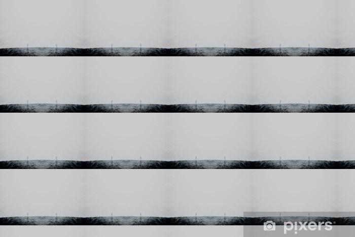 Papier peint vinyle sur mesure Double exposure abstract landscape background - Montagne