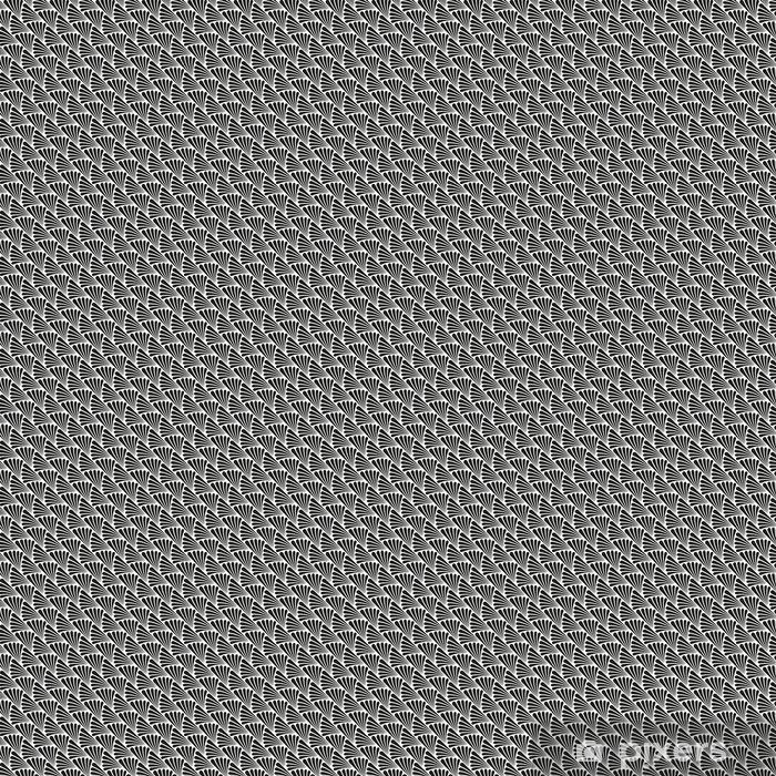 Papel pintado estándar a medida Modelo abstracto inconsútil de la textura del vector del art déco - Recursos gráficos