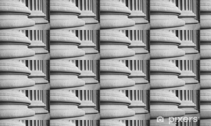 Tapeta na wymiar winylowa Kolumny architektoniczne w klasycznym Federalnej buuilding - Budynki i architektura