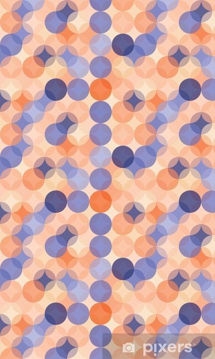 Papier Peint A Motifs Vector Modernes Colores Cercles De Motif