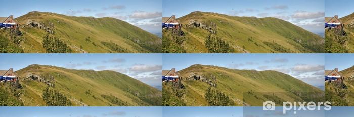 Papier Peint à Motifs Vinyle Sommet de montagne - Vacances