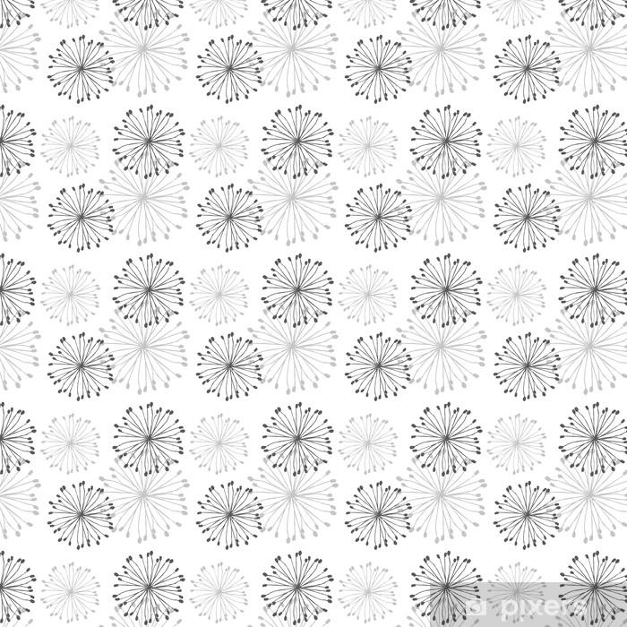 Dandelion Patern Vinyl custom-made wallpaper - Backgrounds