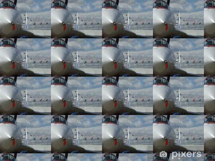 Papier peint vinyle sur mesure Mig 29 - Dans les airs