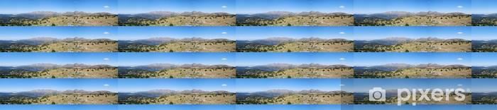 Tapeta na wymiar winylowa Capcir - au du Carlit palm szczyt - Góry