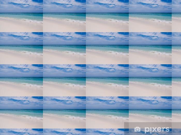 Papier peint vinyle sur mesure Vagues sur la plage - Eau