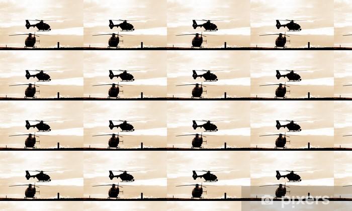 Vinylová tapeta na míru Vrtulník - Těžký průmysl