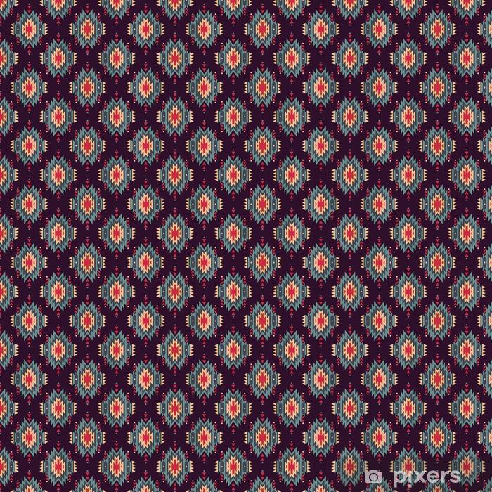 Vektor seamless dekorativa etniska mönster. Amerikanska indiska motiv. Bakgrund med Aztec stam- prydnad.