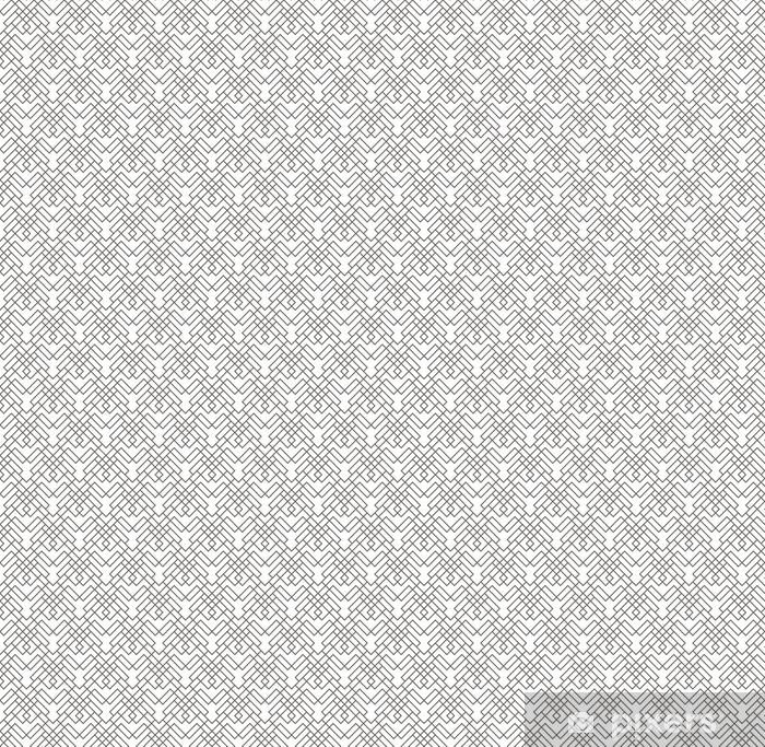 Tapeta na wymiar winylowa Geometryczny abstrakcyjny wzór bez szwu. tło liniowy motyw - Zasoby graficzne
