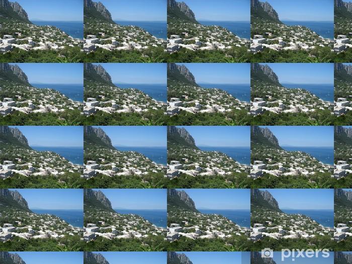 Papier peint vinyle sur mesure Capri d'été - Europe