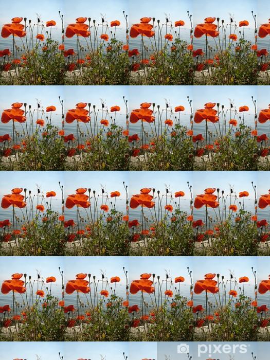 Papier peint vinyle sur mesure Coquelicot à amsterdam - Fleurs