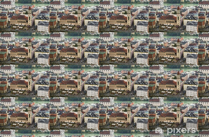 Vinylová tapeta na míru Altes Rathaus (Stará radnice), Pasov - Město