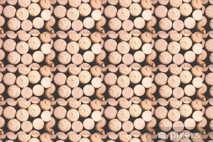 wine background - tilt shift selective focus effect photo Vinyl custom-made wallpaper - Drinks