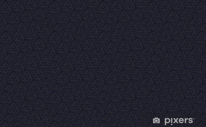 Papel pintado estándar a medida Patrón de la vendimia en una ilustración de background.Vector oscuro. - Recursos gráficos