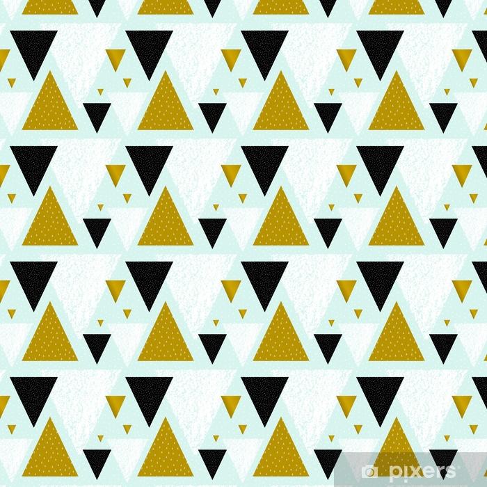 Spesialtilpasset vinyltapet Abstrakt geometrisk mønster - Grafiske Ressurser