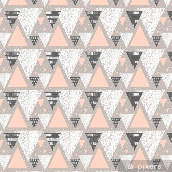 Vinyl behang, op maat gemaakt Abstract geometrisch patroon - Grafische Bronnen