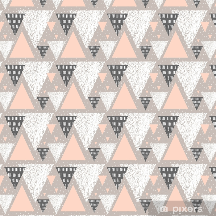 Abstract Geometric Pattern Vinyl custom-made wallpaper - Graphic Resources