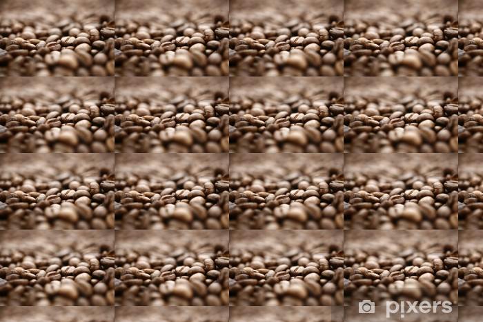 Papier peint vinyle sur mesure Café en grains - Boissons chaudes