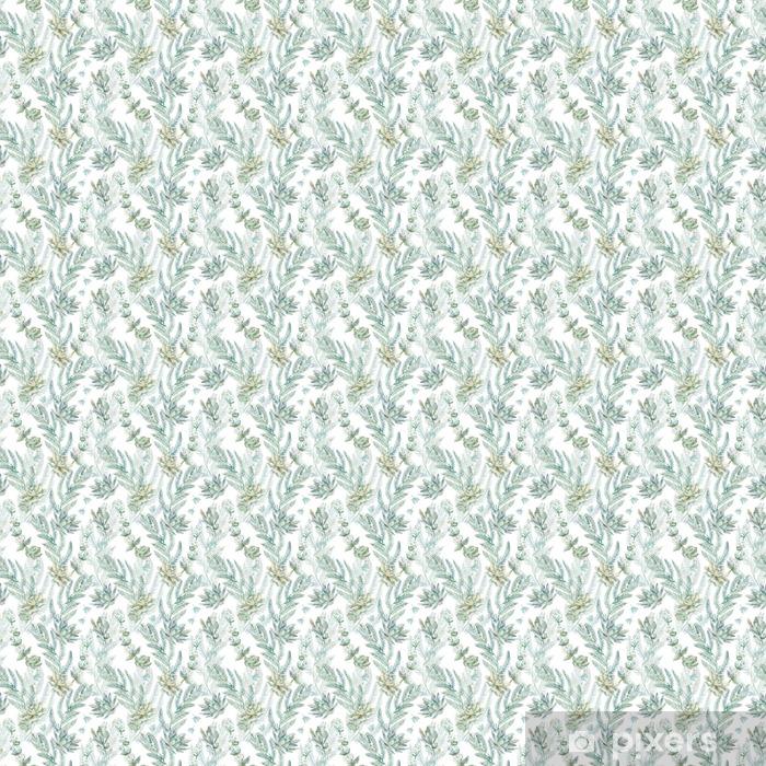 Vinyl Behang Bloemen naadloos patroon. s - Bloemen en Planten