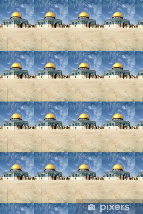 Papier peint vinyle sur mesure Le dôme du Rocher Jérusalem - Religion