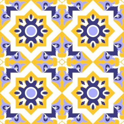 Eastern-Keramik-Fliese marokkanisch Schmaler Duschvorhang