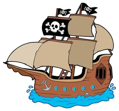 Rideau Occultant Dessin De Bateau De Pirate 1 Pixers Nous Vivons Pour Changer