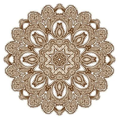 Mandala Design Wall Decal