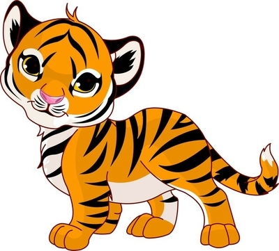 Tiikeri Piirretty