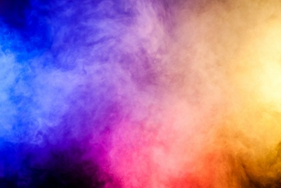 Red Yellow And Blue Smoke On Black Background Blackout Window Curtain Pixers We Live To Change